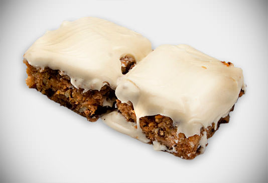 Organic Carrot Cake - Likely to help you see in the dark!
