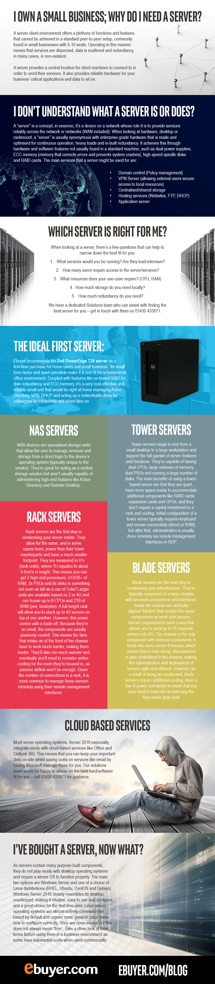 why small businesses need servers