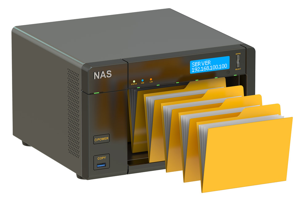 NAS network illustration