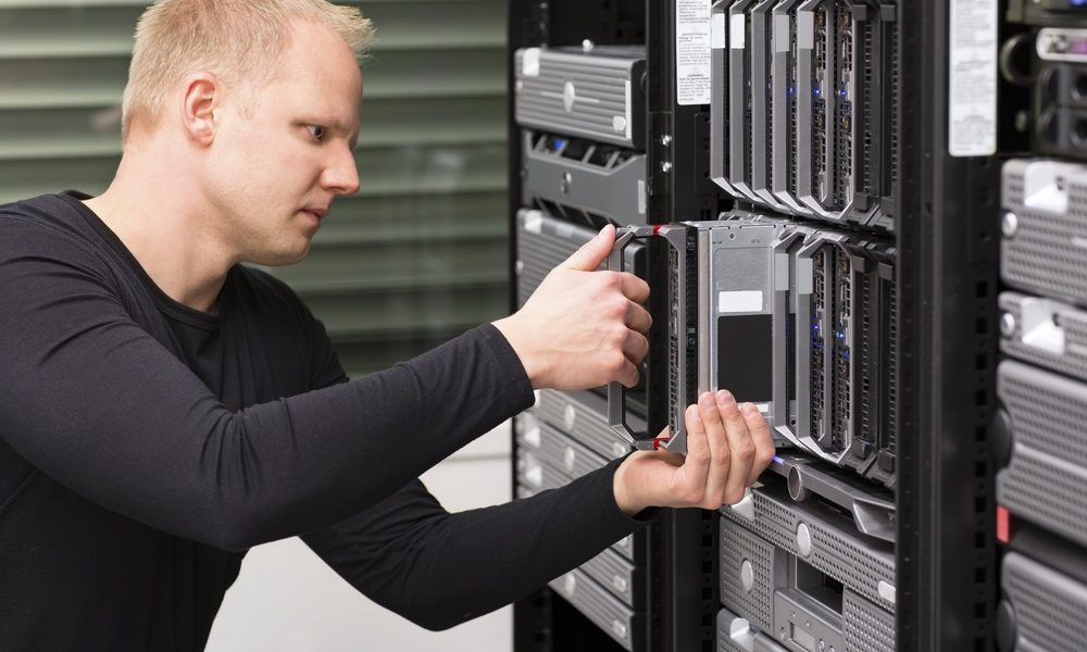 rack server with engineer