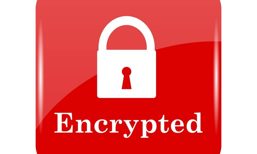 encrypted logo