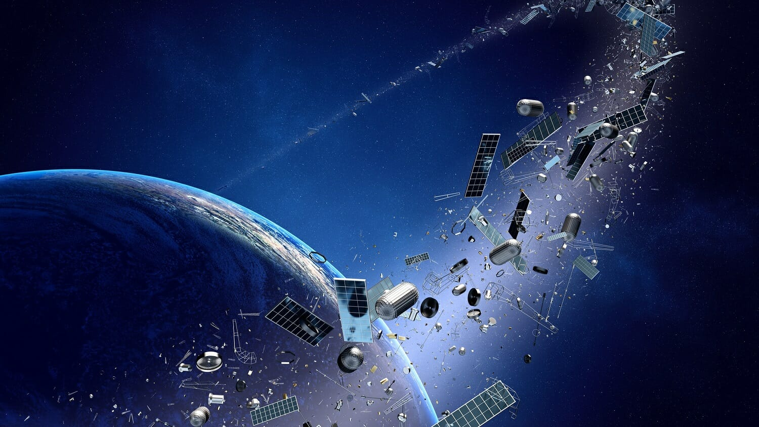 space junk lasers